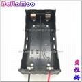 18650双节串联带线电池座 3