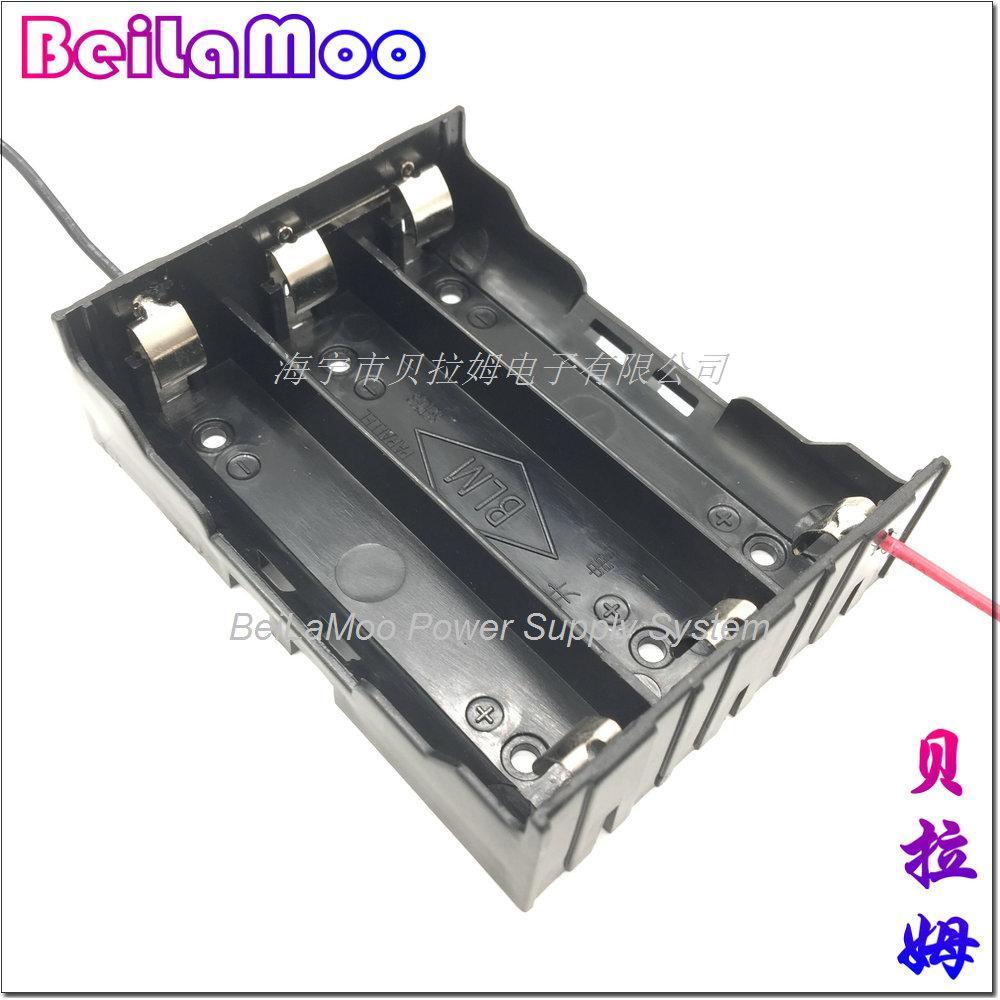 18650三节串联带线电池座 5
