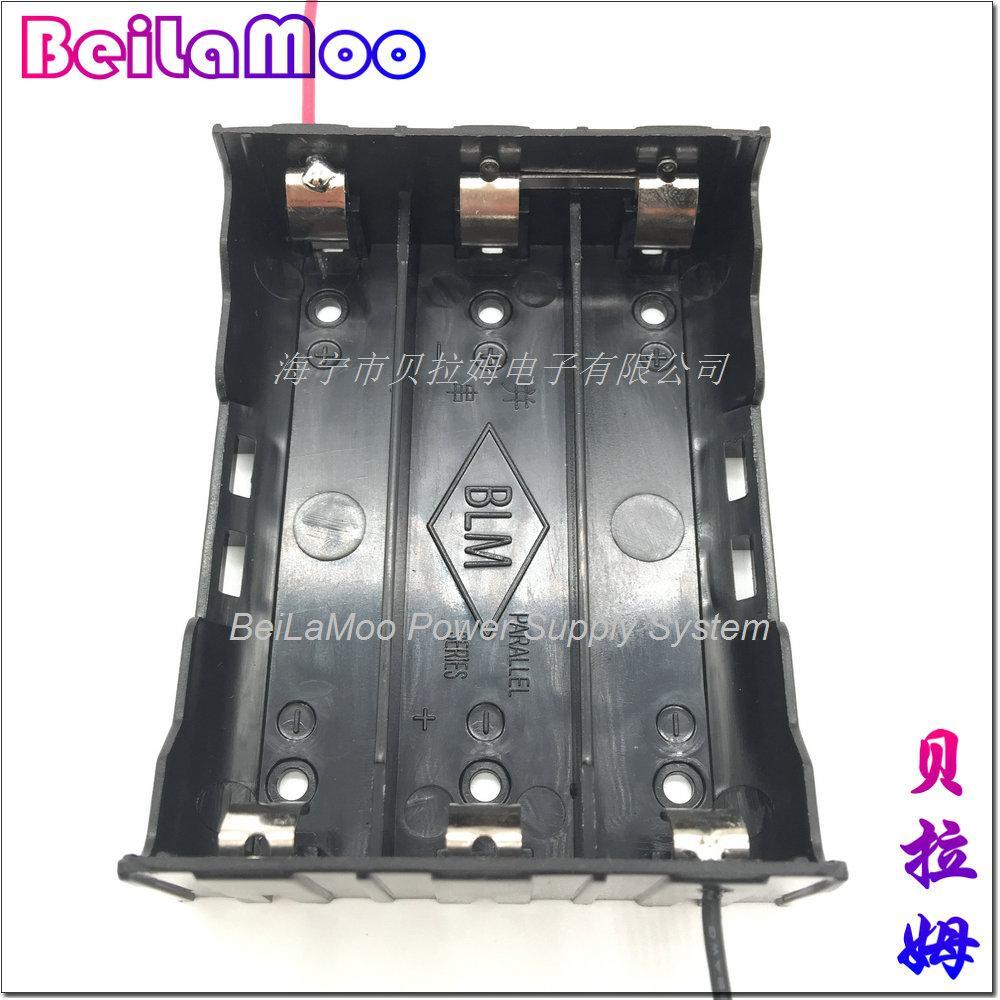18650三节串联带线电池座 6