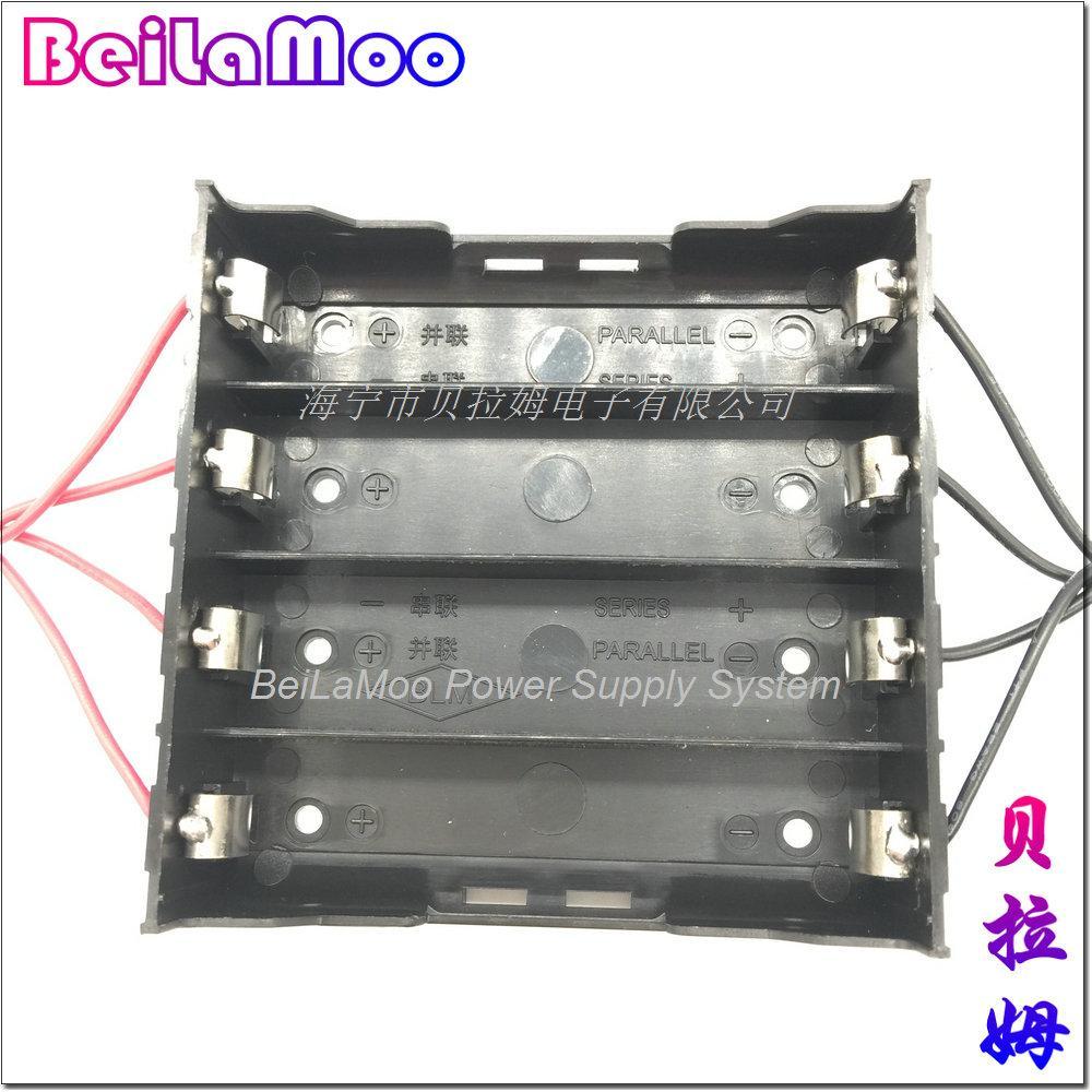18650四节DIY带线电池座 3