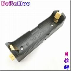 贴片式LC18650锂电池盒单节