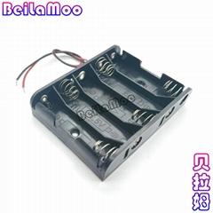 五节五号并排电池盒