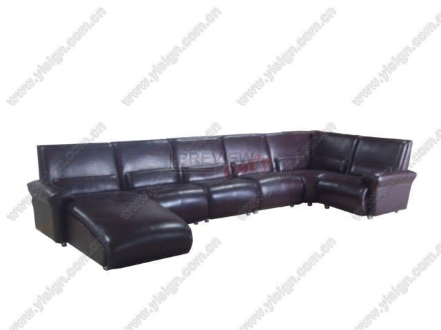 真皮组合沙发 1