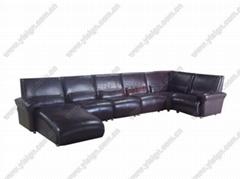 真皮组合沙发