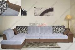 現代休閑布藝沙發