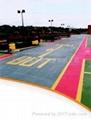 薄層彩色防滑路面