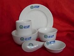 鎂質強化瓷消毒餐具