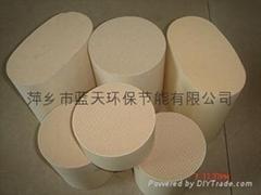 蜂窩陶瓷汽車尾氣載體