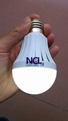 LED智能充电球泡灯9W  应急节能