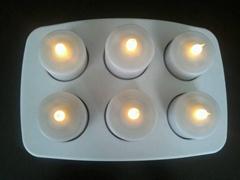 LED电子防水蜡烛灯6座/套