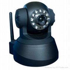 Wireless WiFi Internet Audio IP Camera