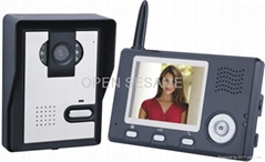 2.4GHz Digital wireless video door phone