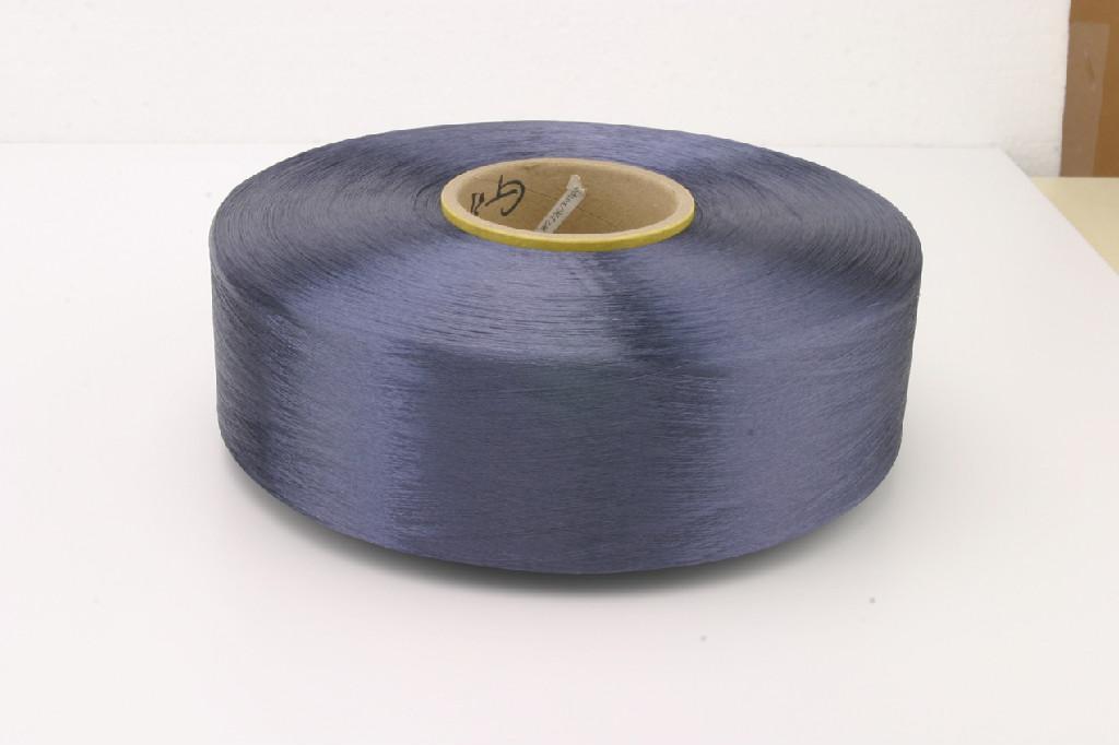300D420D滌綸圓孔色絲仿尼龍織帶絲 3