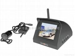 2.4GHZ无线彩色车载后视监视器