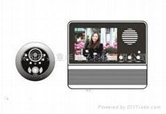 """Digital Security Door Viewer ---3.2""""LCD DOOR VIEWER"""