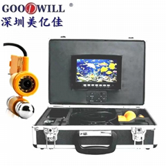 Color underwater camera monitor with DVR GW111DR