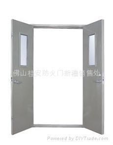 鋼質隔熱防火門 4