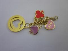 Metal charm, metal keychains