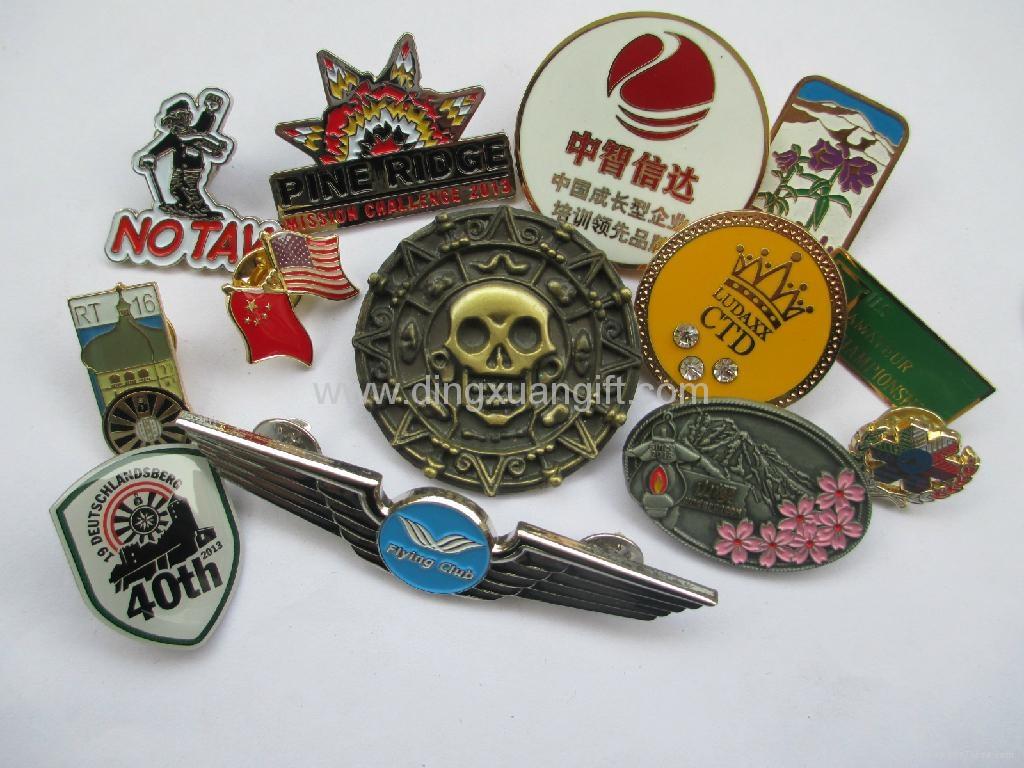 Lapel pins/badges 1