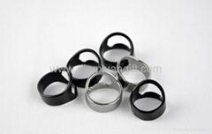 Stainless steel finger ring Bottle Opener
