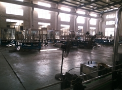 Bottled water washing filling capping machine