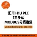 汇川plc无线通讯模块|modbus通讯模块|达泰无线模块 4