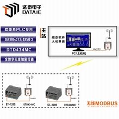 達泰plc無線通信模塊DTD434M西門子PLC無線通信