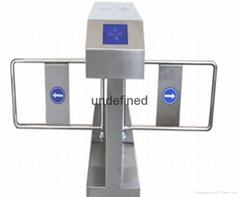 雙機芯橋式斜面擺閘
