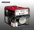 电王HW280D日本久保田柴油发电电焊机 2