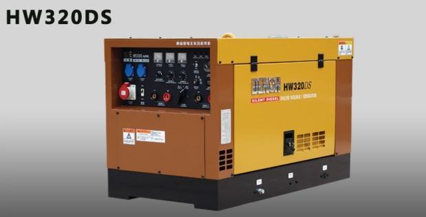 电王HW320DS柴油发电电焊机 1