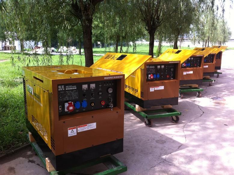 电王HW320DS柴油发电电焊机 2