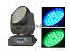 LED ZOOM MOVING HEAD WASH