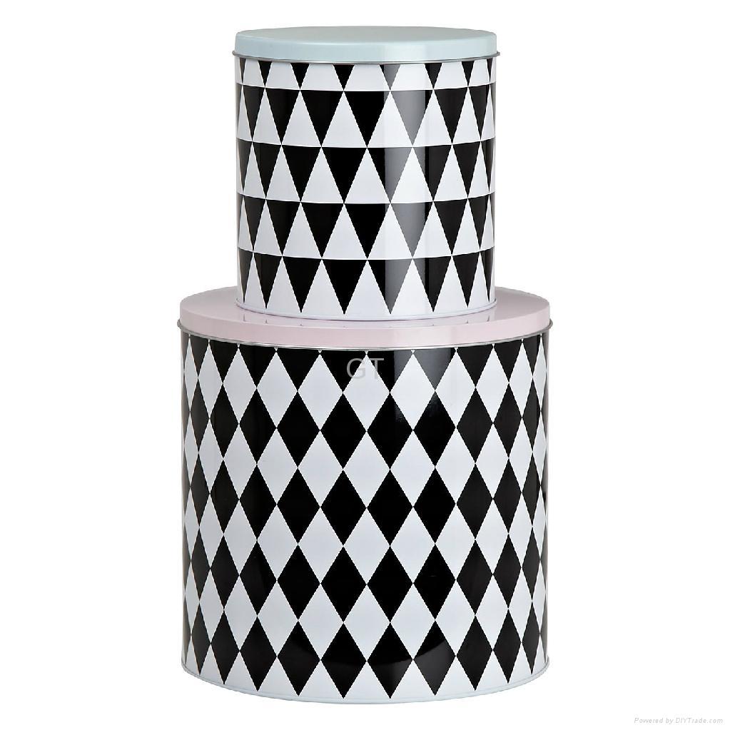 Wine can  wine tin box  tin can  tin case metal case  2