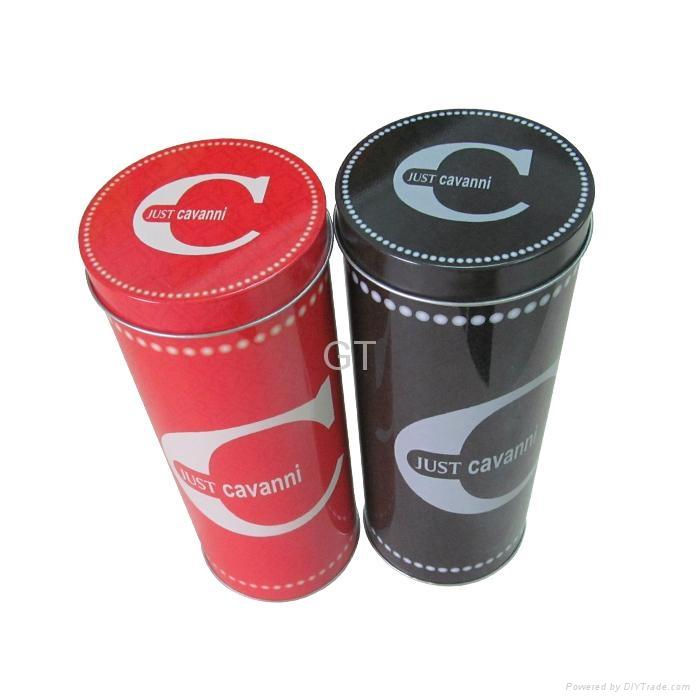 Wine can  wine tin box  tin can  tin case metal case  4