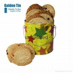 Round Handle Gift Food Case for China