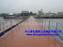 供应通行浮桥