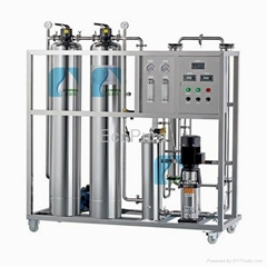 Packaged Drinking Water Treatment RO System 500L/H