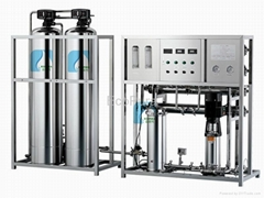 Reverse Osmosis Water Purification System / Water Treatment Plant