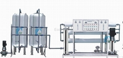 Boiler Water Treatment System / Water Purifying Equipment 8000L/H
