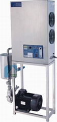 Ozone Generator and Mixer for Water Treatment Plant