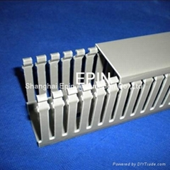 EPIN-UL认证灰色齿形PVC行线槽