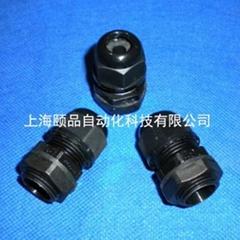 EPIN black Nylon cable gland
