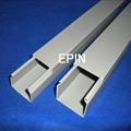 EPIN灰色开口齿型PVC行线槽 2