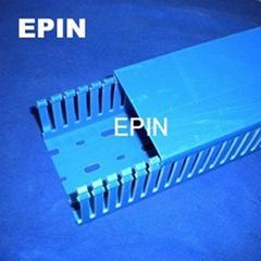 EPIN深藍色開口齒形PVC線槽