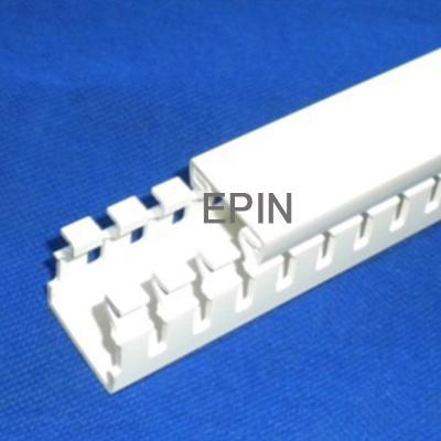 EPIN白色开口齿形PVC线槽 3
