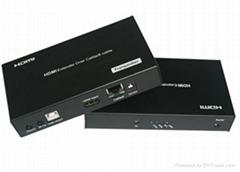 100m HDBaseT Ethernet Extender with POE & USB Port
