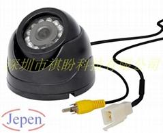 駕培車專用車載GPS配套的RS232接口數模雙輸出串口攝像頭