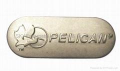 Metal Logo Decal