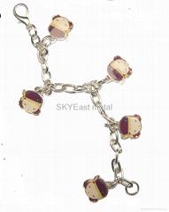 Metal Bracelet with decals