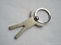 Metal Key Ring & Tag